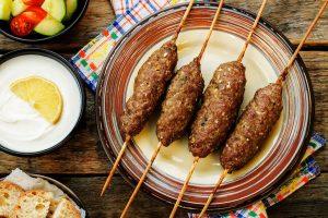 Greek Meat on a Stick