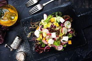 Modern Mixed Greek Salad